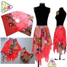 Falda Isabela, diseño único y sobre medida