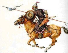 Kipchak/Cuman warrior