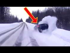 Best Compilation Of Mad Driving In Winter 2016 Mad Driving FAILS Compila...
