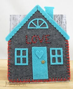 Create With Me: Felt Embroidered New Home