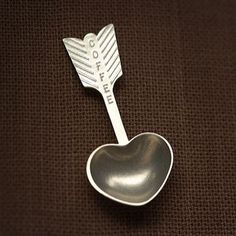 Heart Coffee Scoop from Beehive Kitchenware