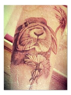 selfportrait black bunny art me beautiful beauty tattoo lady female . Female Rabbit, Rabbit Tattoos, Black Bunny, Tattoo Addiction, Bunny Art, Bunny Rabbit, I Tattoo, Tatting, Lady