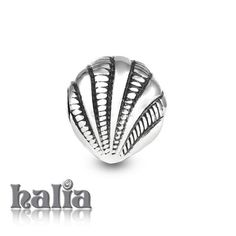 Vacation Countdown: Shell bead: do you know the way to shell beach? Designed exclusively by Halia, this bead fits other popular bead-style charm bracelets as well. Sterling silver, hypo-allergenic and nickel free.    $35.00