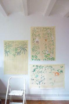 Art studio of Eva Vasquez
