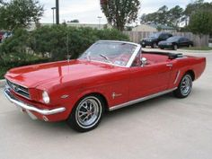 1965 Ford Mustang Convertible!