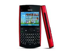Nokia X2-01 Quad Band Unlocked Qwerty Phone (Red)