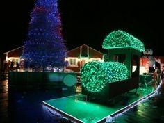 Presidente Medina enciende luces del parque temático Vive la Navidad de SDE
