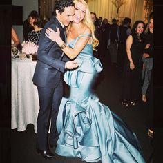Sylvia Mantella // Zac is as kind and wonderful and genuine as can be... Sharing a laugh and a moment I will never forget in a stunning @zac_posen creation at the incredible #SuzanneRogersPresents Zac Posen Gala in Toronto #magical #love#bestmoments #thankful #ZacPosen
