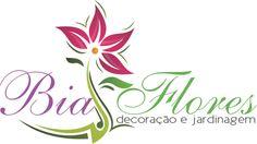 Logomarca para Decoração e Jardinagem - Bia Flores  #Decoracao #jardinagem #logotipos #logos #logotipo #inspiration #logosfacil