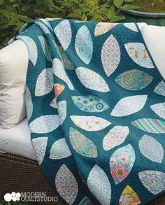 Downstream. Modern Quilts Illustrated #9. Photo: Jim White. Copyright Modern Quilt Studio.