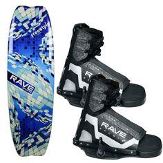 RAVE Freestyle Wakeboard w/Striker Boots - https://www.boatpartsforless.com/shop/rave-freestyle-wakeboard-wstriker-boots/
