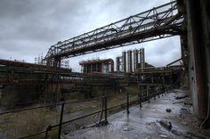 Industrial wasteland - Abandoned Coke Plant.