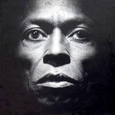Miles Davis (by Irving Penn,1986)