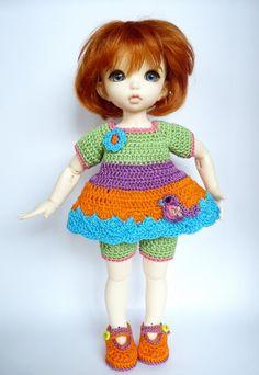 LittleFee 3 Pc Outfit Set Big JellyBean