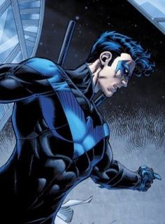 Nightwing sneak peak by Brett Booth and Norm Rapmund Im Batman, Batman Robin, Gotham Batman, Batman Art, Bob Kane, Teen Titans, Batgirl, Gotham City, Comic Books Art