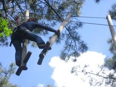 Foret Adrenaline, parc aventure en bretagne sud Ropes Course, Western Coast, Outdoor Games, Plein Air, Rafting, Yard Ideas, Brittany, Playground, Leo