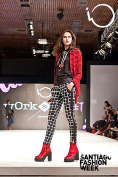 #SFW 2015 Punk, Style, Fashion, Saint James, Over Knee Socks, Women, Swag, Moda, Stylus