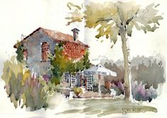 As promised I am posting addition images of my sketch journal and photos from Tuscany. I have scanned my travel journal, sorted photos, and ...