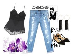 """All Laced Up for Spring with bebe: Contest Entry"" by lejla150 ❤ liked on Polyvore featuring Bebe, Oliver Gal Artist Co., Accessorize and alllacedup"