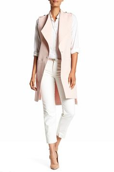 Kathryn Hi-Lo Long Vest by Soia & Kyo on @nordstrom_rack