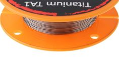 Titanium TA1 Wire 10m 30ft Rebuildable Atomizer Build Coil RDA RTA Vape TC