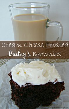 Cream Cheese Frosted Baileys Brownies | 13 Amazing Brownies To Satisfy Your Sweet Tooth