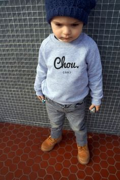 Sweat chou by Tel Père Tel Fils