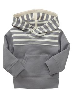 striped terry hoodie @ Gap