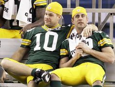 Another great Packers bromance