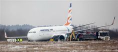 Czech Boeing 737-800 skids off runway in Poland