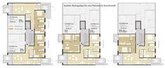 Baugebiet WA 2(2) Paul Gerhardt Allee München, 1. Preis | Hierl Architekten
