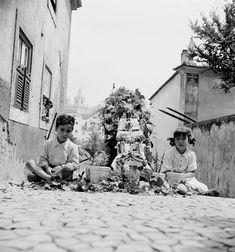 Lisboa de Antigamente: Festas dos Santos Populares: os tronos de Santo An...