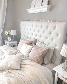 The Very Best Cheap Romantic Bedroom Ideas Cozy Bedroom, Bedroom Decor, Bedroom Ideas, Master Bedroom, Purple Bedding Sets, White Bedding, Couple Room, Beautiful Bedrooms, Luxury Bedding