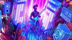 Escape, Video Game Art, Twitter, Thor, Geek Stuff, Neon Signs, Games, Style, Guitar Solo
