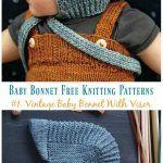 Vintage Babyhaube Mit Visier - Tutorial