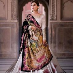48213050 Pakistani Designer Dress Cost And Where To Buy Them In India? Indian Bridal Fashion, Pakistani Bridal Wear, Indian Wedding Outfits, Pakistani Outfits, Asian Fashion, Indian Outfits, Indian Clothes, Women's Fashion, Fashion Trends