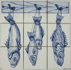 BCF Handpainted and handmade panel, Tiles - Wall Tiles - Ceramic Wall Tile