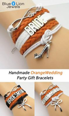 Don't Miss our 50% Off Sales Event! Perfect gift idea for the Orange Wedding bridal party. Bride, Bridesmaid, Maid of Honor, Bride Mother, Groom Mother and Flower Girl.