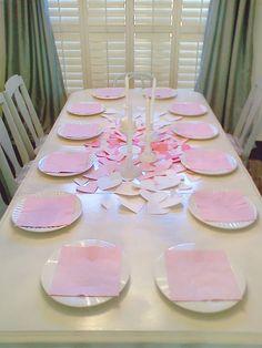 simple Valentines Table