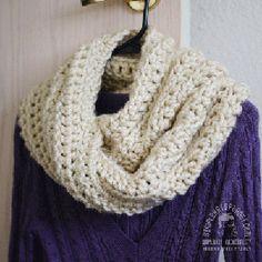Crochet Chunky Infinity Cowl Pattern