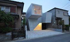 House in Abiko by Shigeru Fuse 4 600x365 Arquitectura Japonesa Moderna con Geometría
