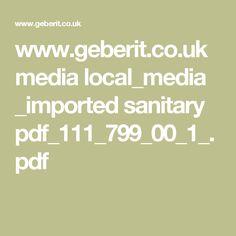 www.geberit.co.uk media local_media _imported sanitary pdf_111_799_00_1_.pdf Pdf, Math Equations, Literature, June, Bathroom, Psychics, Literatura, Washroom, Full Bath