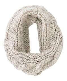 Another great find on #zulily! Ivory Merton Infinity Scarf by Shiraleah #zulilyfinds