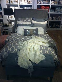 Pretty bedding setting