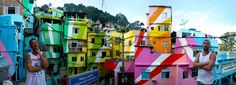 Haas & Hahn: With your help, we will paintd an entire favela in Rio de Janeiro!