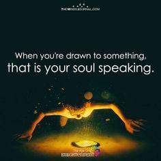 Soul speaking