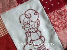 busy little christmas elves block 1 - (AE) HT