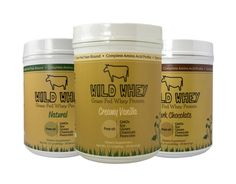Wild Whey Non-Denatured Grass-Fed Whey Protein