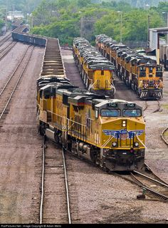 RailPictures.Net Photo: UP 7745 Union Pacific GE ES44AC at Butler, Wisconsin by Adam Wells