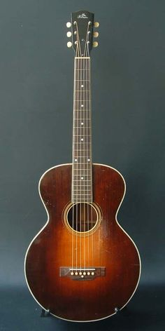 1927 Gibson L-1 acoustic guitar.